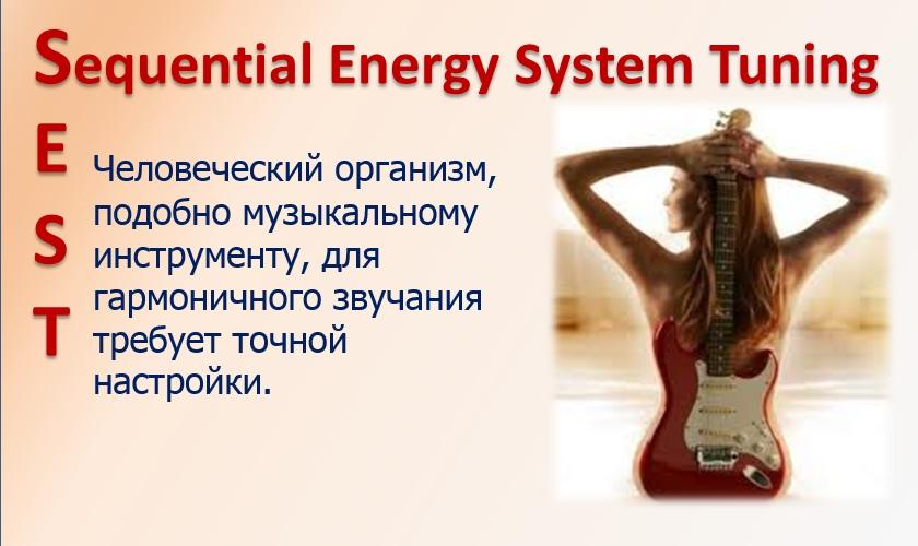"""""""SEST последовательная настройка энергетической системы организма"""" в пространстве ста миров"""