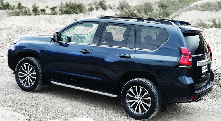 кузов Toyota Land Cruiser Prado 2019