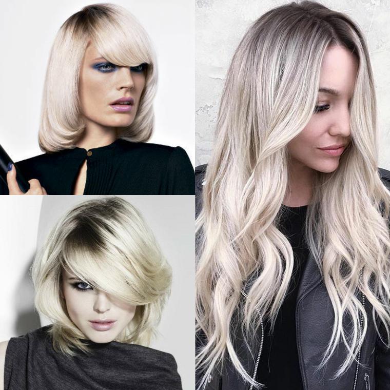 техника окрашивания блондирование