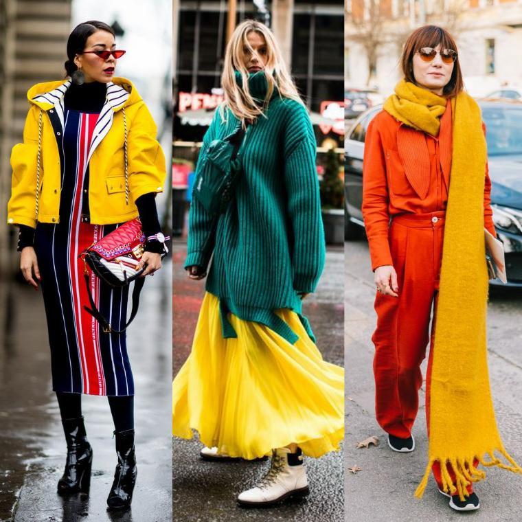 уличная мода зима 2019 2019