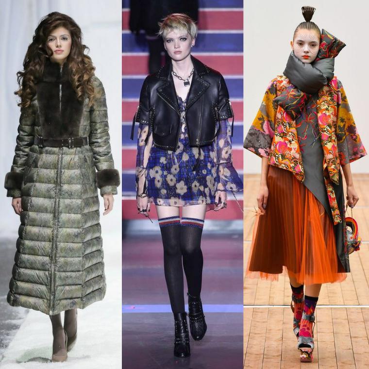В осенне-зимнем сезоне возвращаются элементы моды 70-80 гг. (дутые формы,  приспущенная форма плеча, строгие силуэты, ремень на линии талии). 7db94b9647d