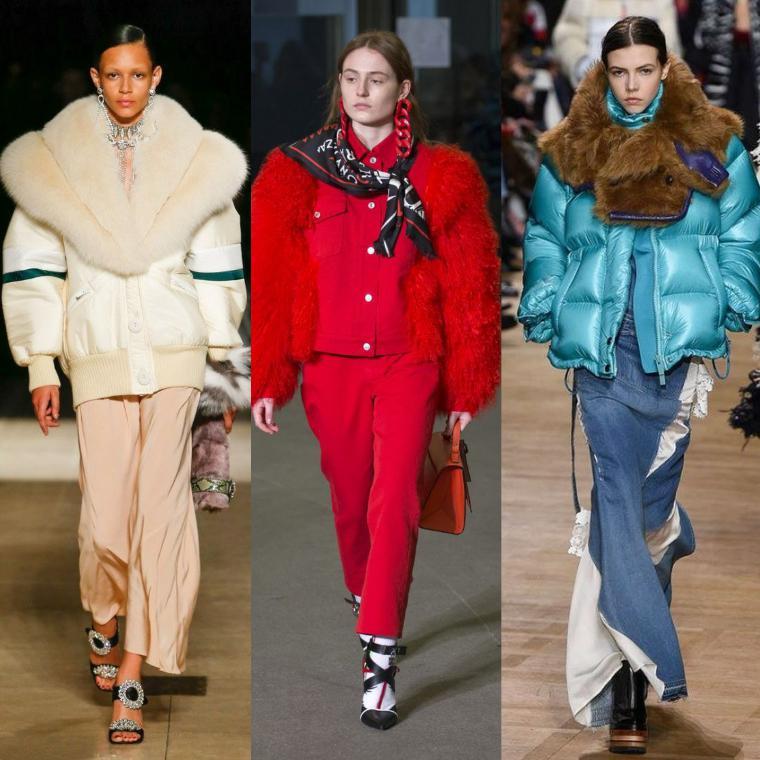 Меховые куртки сочетаются с одеждой в разных стилевых направлениях  (классика, кэжуал, спортивный, авангард и т. д.). d2e8d4284bd