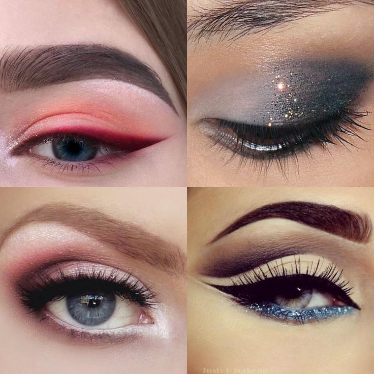 Новогодний макияж 2019: как накрасить глаза и губы