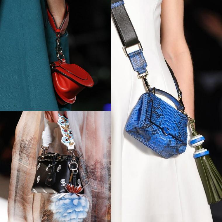 миниатюрные дизайнерские сумки