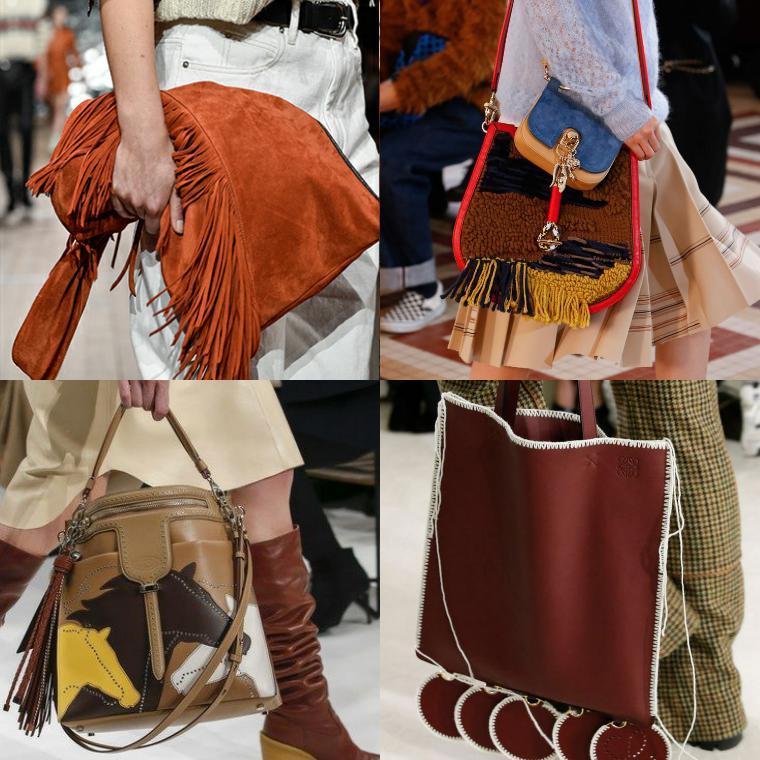сумки в стиле бохо и кантри