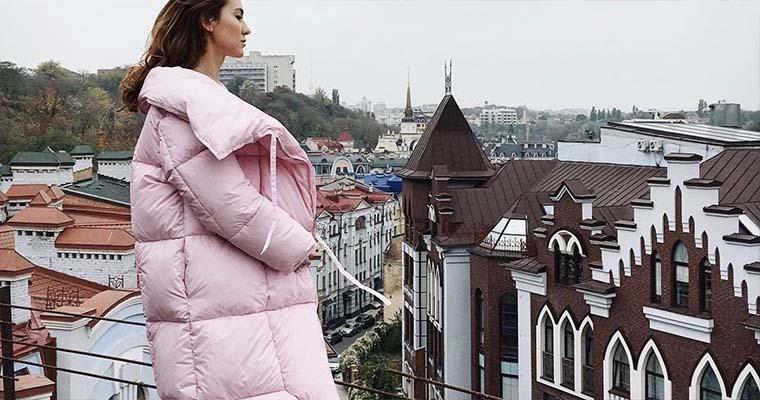 мода 2019 зима пуховики женские