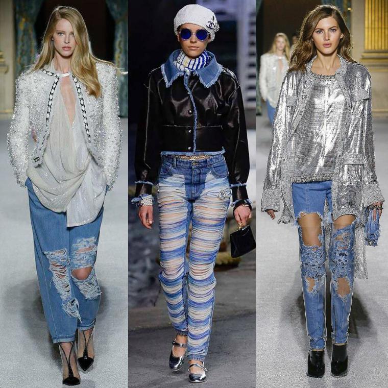 c8442c2f1f0 Полюбившиеся многим модницам джинсы-бойфренды не потеряют своей  востребованности и в 2019 году. В новом сезоне модный тренд будет  отличаться более высокой ...