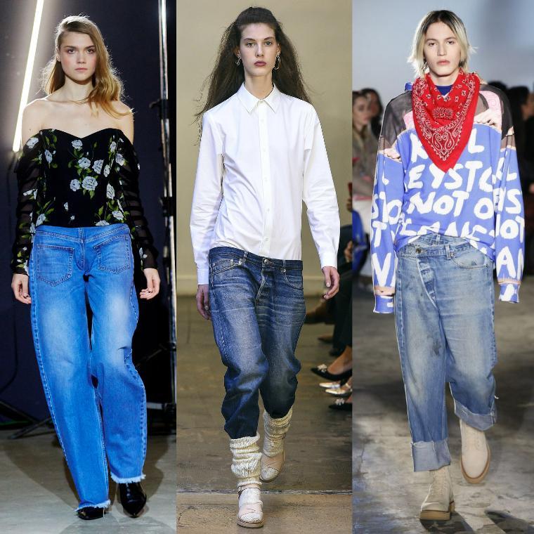 eda547cbe20 Модные женские джинсы 2019 модные тендеции (40 фото) – Блог о ...