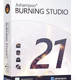 Ashampoo Burning Studio 21.6.1.63 Crack + Serial Key 2021 Download