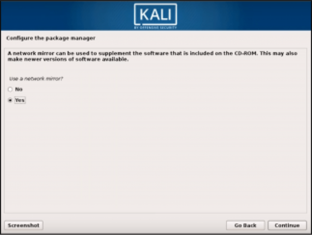 Step 8 Kali Linux - How to install Kali Linux