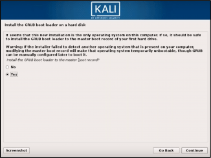 Step 9 Kali Linux - How to install Kali Linux