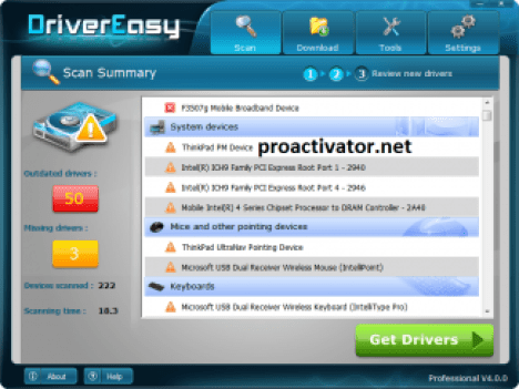Driver Easy Professional 5.6.14.33488 Crack With Premium Activation Key