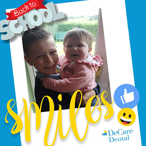 DeCare Dental Back to School Smiles competition - 1st