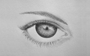 eye draw step easy drawing tutorial eyes begginers drawings sketch soft simple steps outline tutorials pencil beginners