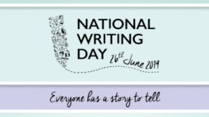 Image: National Writing Day banner