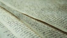Image: Longhand pages