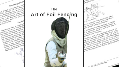 Image: Art of Foil Fencing 2nd Ed. now on Amazon