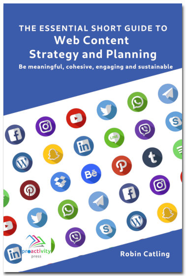 The Essential Short Guide to Web Content Strategy and Planning