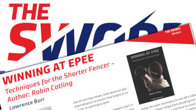 Winning at Épée reviewed in The Sword Magazine