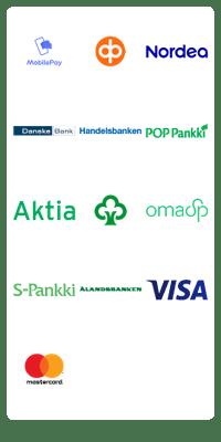 Checkout maksutavat proakku.fi kaupassa