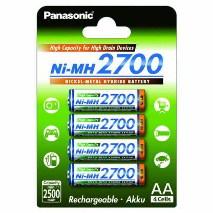 Panasonic AA ladattava paristo 2700mAh