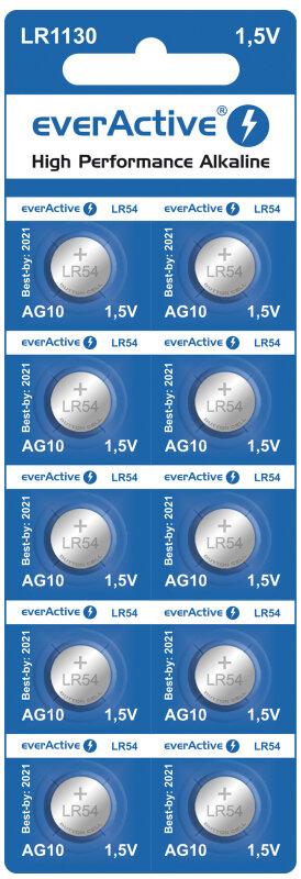 nappiparisto G10 LR54 everactive