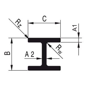 dwuteowniki aluminiowe