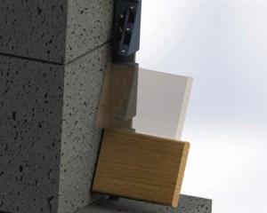 hliníkové plotové výplně - systém montáže pro okenicové ploty .