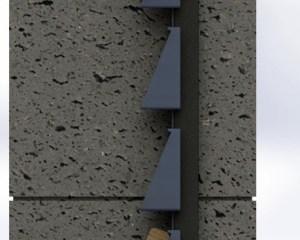 Okenicový plot - systém montáže