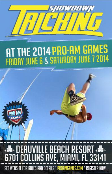 Miami Tricking Battle ProAm Games