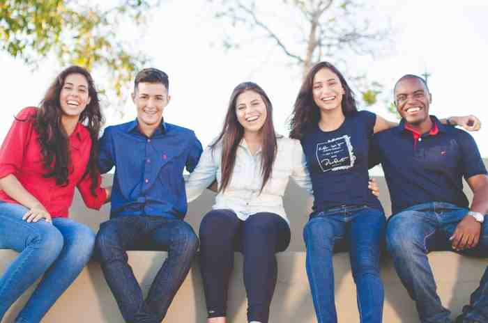 Should I attend a community college? These students look happy with their choice.