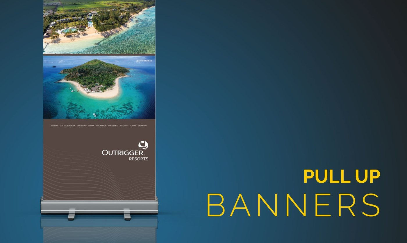 Pull Up Banners 1 - Our Work
