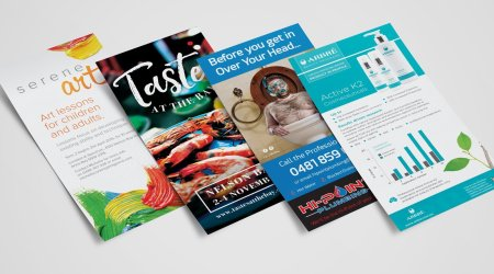 Various DL Brochure - Flyers
