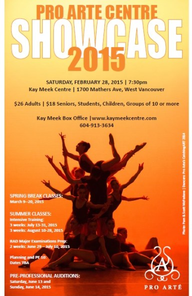 Showcase Poster 2015