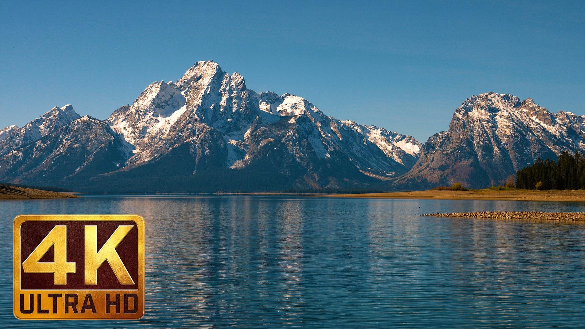 Snoqualmie Falls Wallpaper Jackson Lake At Grand Teton National Park 2 Parts 4k