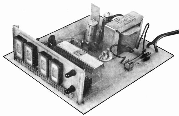 Digitalclockcircuitproject Led Digital Clock Circuit With Voice