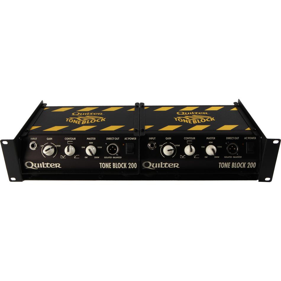 quilter labs tone block 200 stereo rackmount guitar amp head