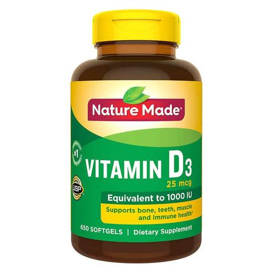 Nature Made® Vitamin D3