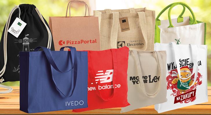 Wypróbuj torbę ekologiczną!