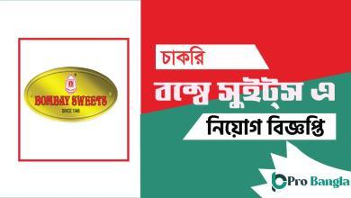 Bombay Sweets Job Circular
