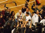 Opening night first ever Brooklyn Nets game 11-4-12