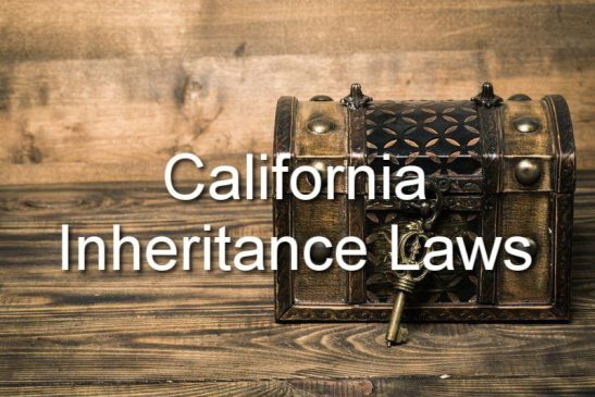 california inheritance laws