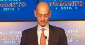 Adam Silver at Podium 2
