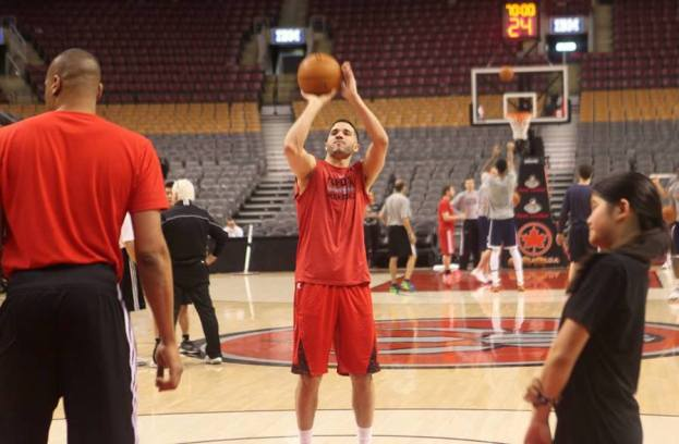 Greivis Vasquez shooting by Paul Saini (Fylmm