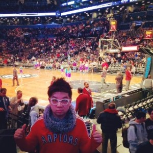 MoVernie photo inside the Barclays Center 2