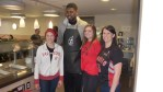 Amir Johnson & staff 2
