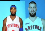Valanciunas and Drummond