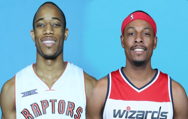 DeRozan and Pierce