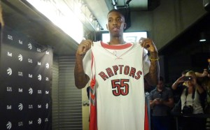 NBA rookie Delon Wright 55