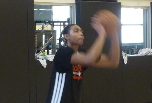 Bruno Caboclo shooting